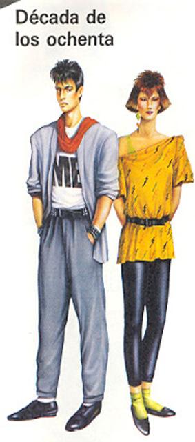 Moda los 80