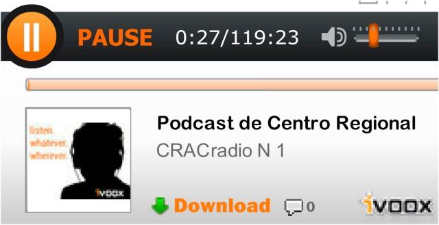 CRACradio Podcast N 1
