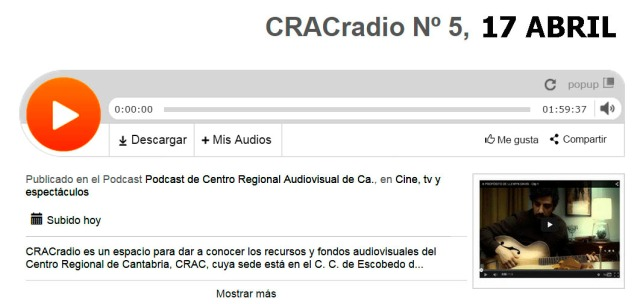 CRACradio Podcast N 5