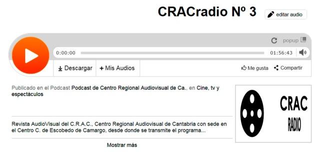 CRACradio Podscat nº 3