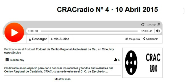 CRACradio Podscat nº 4