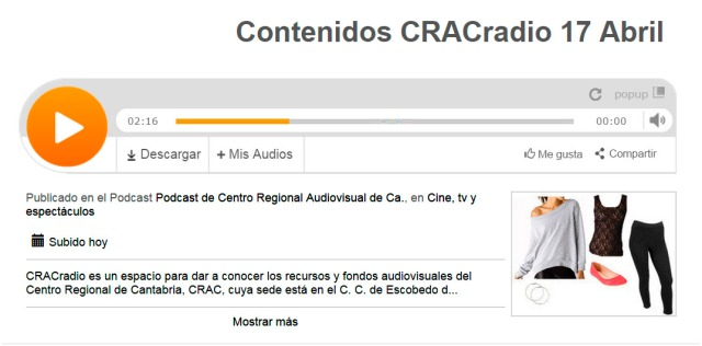 CRACradioContenidos 5 Progr 17 Abril