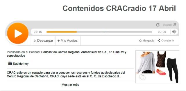 CRACradioContenidos 5 Progr 17 Abril
